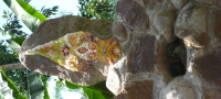 5 stupa mosaic