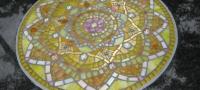 irmgard gedenkteken mandala