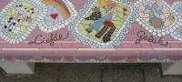 kompas detail roze