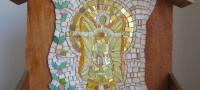 mini altaar yellow guardianangel